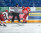 Sudbury, ON - April 23 2018 - Game 2 - Toronto Young Nationals vs Notre Dame Hounds during the 2018 TELUS Cup at the Sudbury Community Arena in Sudbury, Ontario, Canada (Photo: Matthew Murnaghan/Hockey Canada)