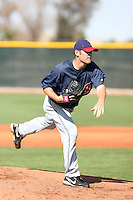 Nick Kirk, Cleveland Indians 2010 minor league spring training..Photo by:  Bill Mitchell/Four Seam Images.