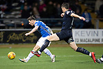 Dundee v St Johnstone&hellip;29.12.18&hellip;   Dens Park    SPFL<br />Matty Kennedy&rsquo;s shot is saved by Jack Hamilton<br />Picture by Graeme Hart. <br />Copyright Perthshire Picture Agency<br />Tel: 01738 623350  Mobile: 07990 594431