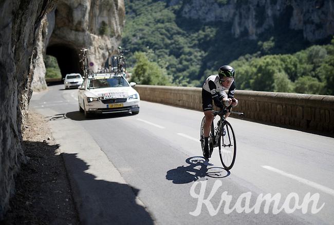 Serge Pauwels (BEL/DimensionData)<br /> <br /> stage 13 (ITT): Bourg-Saint-Andeol - Le Caverne de Pont (37.5km)<br /> 103rd Tour de France 2016