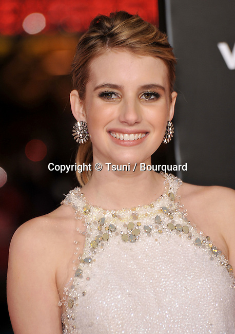05_ Emma Roberts _05   -<br /> Valentine&rsquo;s Day  Premiere at the Chinese Theatre In Los Angeles.