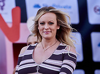Stormy Daniels at the Opening of Venus erotic trade fair in Berlin, Germany - 11 Oct 2018. Credit: Action Press/MediaPunch ***FOR USA ONLY***