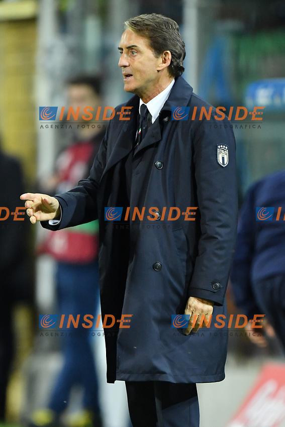 Italy's head coach Roberto Mancini <br /> Palermo 18-11-2019 Stadio Renzo Barbera <br /> UEFA European Championship 2020 qualifier group J <br /> Italy - Armenia <br /> Photo Carmelo Imbesi / Insidefoto