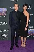 "LOS ANGELES, USA. April 22, 2019: Benedict Cumberbatch & Sophie Hunter at the world premiere of Marvel Studios' ""Avengers: Endgame"".<br /> Picture: Paul Smith/Featureflash"