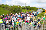 Large crowds attended the unveiling ceremony last Sunday to mark 50yrs of the Gneeveguilla GAA club.