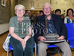 Pat and Patricia Dillon at the Social evening in Drumshallon Forge. Photo:Colin Bell/pressphotos.ie