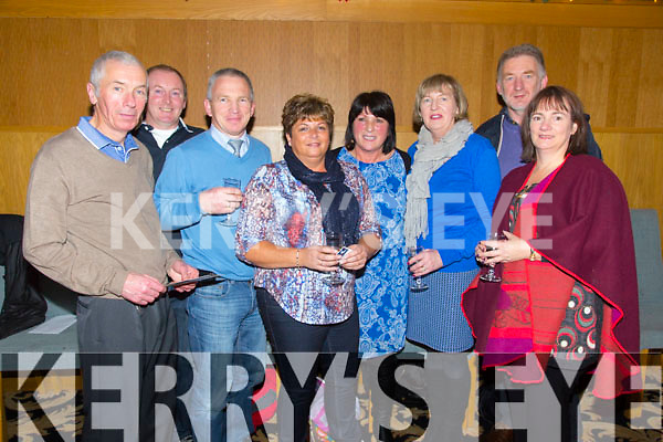 Tom Reidy, Francis Darcy, David Tuff, Jackie Tuff, Breda Gleasure, Suzanne Boyle, Douglas Fitzell, Doreen Fitzell enjoying the at the Who Wants To Be A Thousandaire' night in Ballyroe Heights Hotel in aid of the three Church of Ireland churches  St John churches in Ballyseedy, Ballymacelligott and in Ashe Street on Thursday