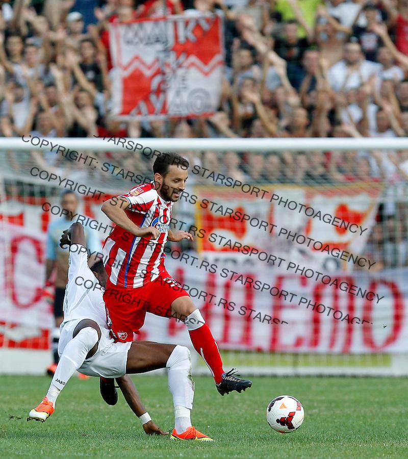 Fudbal Super liga season 2013-2014<br /> Javor v Crvena Zvezda <br /> Milos Ninkovic<br /> Ivanjica, 11.08.2013.<br /> foto: Srdjan Stevanovic/Starsportphoto &copy;