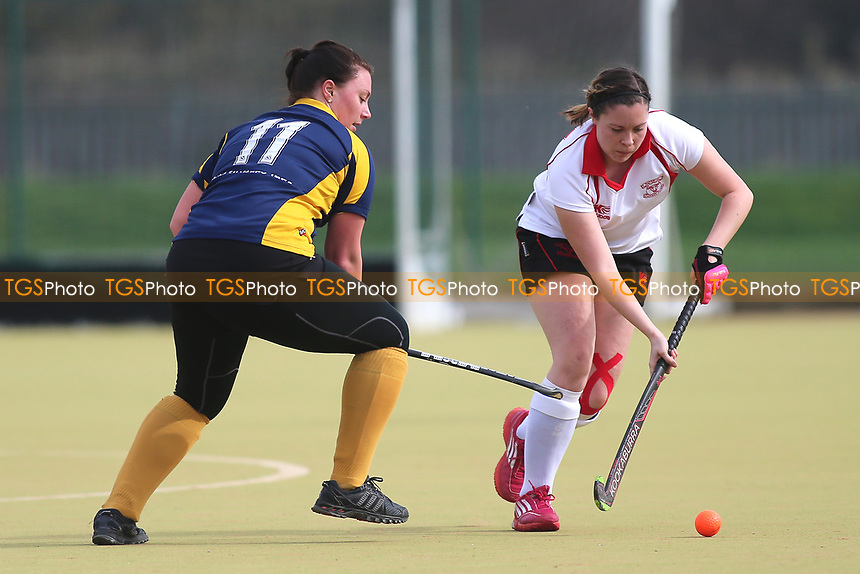 Romford HC Ladies vs Havering HC Ladies 2nd XI, Essex Women's League Field Hockey at the Robert Clack Leisure Centre on 11th March 2017