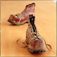 Old Railroad worker boots<br />