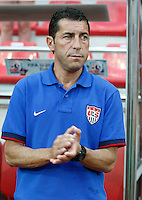 USA's Coach Tab Ramos during their FIFA U-20 World Cup Turkey 2013 Group Stage Group A soccer match Ghana betwen USA at the Kadir Has stadium in Kayseri on June 27, 2013. Photo by Aykut AKICI/isiphotos.com