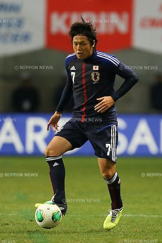 Yasuhito Endo (JPN), .FEBRUARY 6, 2013 - Football / Soccer : .KIRIN Challenge Cup 2013 Match between Japan 3-0 Latvia .at Home's Stadium Kobe in Hyogo, Japan. .(Photo by Akihiro Sugimoto/AFLO SPORT)