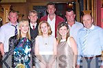 Fred O'Connor, Denis Collins, Nora, John Walsh, Michael O'Connell, Margaret Kerins and John Kerins at the Scartaglen GAA social in the River Island Hotel on Saturday night