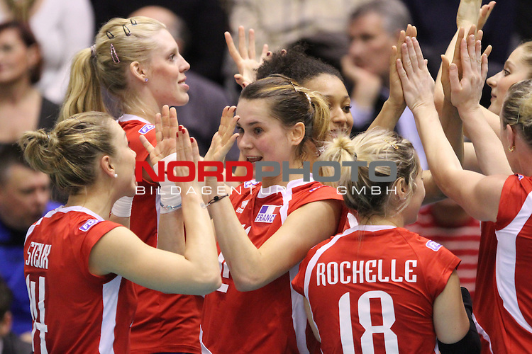04.01.2014., Gimnasium Hall, Rovinj, Croatia - Qualifier volleyball tournament for the World Cup qualifications, Croatia - France.<br /> JUbel<br /> Foto &not;&copy;  nph / PIXSELL / Nel Pavletic