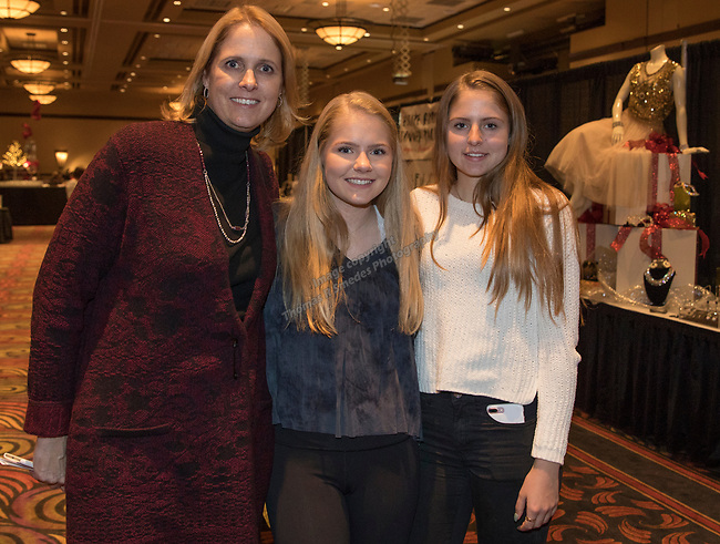 Katherine, Case and Katie Packham during the 10th Annual Power of the Purse held on Friday night, Nov. 17, 2017 in the Reno Ballroom in downtown Reno.