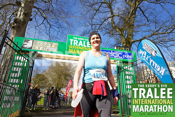 1661 Breda Quirke who took part in the Kerry's Eye, Tralee International Marathon on Saturday March 16th 2013.