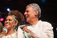 SÃO PAULO - SP. 15.02.2017 - SHOW-SP.  Chico Buarque e Mariene de Castro durante Show de Verão da Mangueira, nesta quarta-feira, 15, no Tom Brasil, zona sul de São Paulo. (Foto: Ciça Neder / Brazil Photo Press)