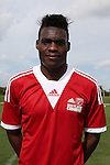 09 January 2015: Abdul-Fatai Alashe (Michigan State). The 2015 MLS Player Combine was held on the cricket oval at Central Broward Regional Park in Lauderhill, Florida.