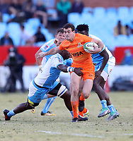 Emiliano Boffelli of the Jaguares during the Super Rugby match between the Vodacom Bulls and the Jaguares at Loftus Versfeld in Pretoria, South Africa on Saturday, 7 July 2018. Photo: Steve Haag / stevehaagsports.com