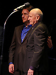 Jason Danieley & Terrence McNally.performing in 'Angela Lansbury and Friends Salute Terrence McNally' - A Benefit for the Acting Company in New York City.