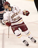Dana Trivigno (BC - 8) - The Boston College Eagles defeated the visiting UConn Huskies 4-0 on Friday, October 30, 2015, at Kelley Rink in Conte Forum in Chestnut Hill, Massachusetts.
