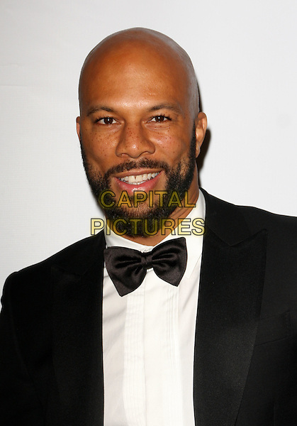 COMMON (Lonnie Rashid Lynn, Jr.) (previously known as Common Sense).14th Annual Critics' Choice Awards Official After Party held at The Viceroy Hotel, Santa Monica, California, USA..January 8th, 2009.headshot portrait black bow tie beard facial hair .CAP/ADM/KB.©Kevan Brooks/AdMedia/Capital Pictures.