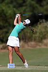 16 October 2016: Michigan State's Paz Marfa Sans (ESP). The Final Round of the 2016 Ruth's Chris Tar Heel Invitational NCAA Women's Golf Tournament hosted by the University of North Carolina Tar Heels was held at the UNC Finley Golf Club in Chapel Hill, North Carolina.