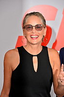 Sharon Stone at the world premiere for &quot;The Spy Who Dumped Me&quot; at the Fox Village Theatre, Los Angeles, USA 25 July 2018<br /> Picture: Paul Smith/Featureflash/SilverHub 0208 004 5359 sales@silverhubmedia.com