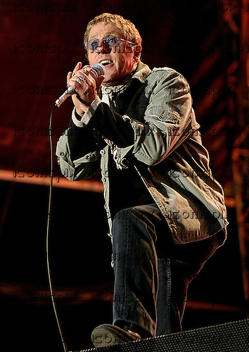 THE WHO - performing live at the headline act at the inaugural Knowsley Hall Music Festival near Liverpool UK - 23 Jun 2007.  Photo credit: Sarah Henderson/IconicPix