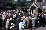 Tissington Well Dressing 1970s Derbyshire