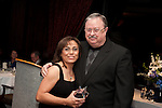 Volunteer of the Year, Virginia Bazan with District Chair, Clyde Bailey