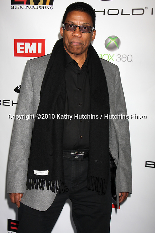 Herbie Hancock.arriving at the EMI Post Grammy Party 2010.W Hotel Hollwood.Los Angeles, CA.January 31, 2010.©2010 Kathy Hutchins / Hutchins Photo....