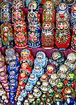 Bonecas, artesanato russo. Foto de Cris Berger.