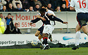 04/03/2006         Copyright Pic: James Stewart.File Name : sct_jspa05_falkirk_v_rangers.RUSSELL LATAPY SCORES FALKIRK'S GOAL......Payments to :.James Stewart Photo Agency 19 Carronlea Drive, Falkirk. FK2 8DN      Vat Reg No. 607 6932 25.Office     : +44 (0)1324 570906     .Mobile   : +44 (0)7721 416997.Fax         : +44 (0)1324 570906.E-mail  :  jim@jspa.co.uk.If you require further information then contact Jim Stewart on any of the numbers above.........