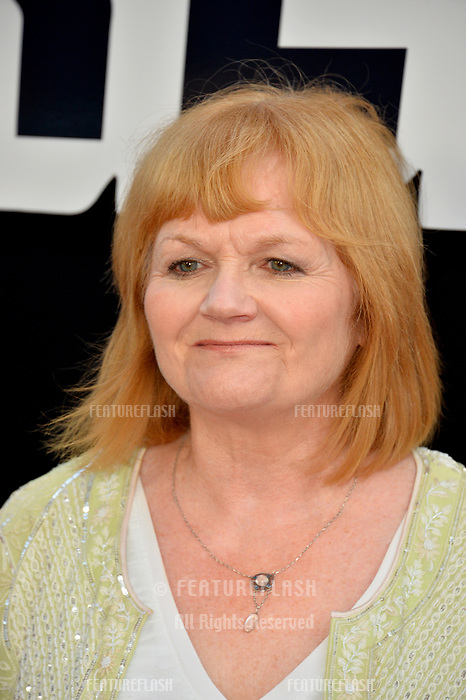 "Lesley Nicol at the Los Angeles premiere of ""BlacKkKlansman"" at the Academy's Samuel Goldwyn Theatre, Beverly Hills, USA 08 Aug. 2018<br /> Picture: Paul Smith/Featureflash/SilverHub 0208 004 5359 sales@silverhubmedia.com"