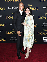 "09 July 2019 - Hollywood, California - Keegan-Michael Key, Elisa Pugliese. Disney's ""The Lion King"" Los Angeles Premiere held at Dolby Theatre. Photo Credit: Birdie Thompson/AdMedia"