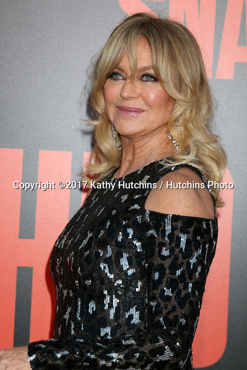 """LOS ANGELES - MAY 10:  Goldie Hawn at the """"Snatched"""" World Premiere at the Village Theater on May 10, 2017 in Westwood, CA"""