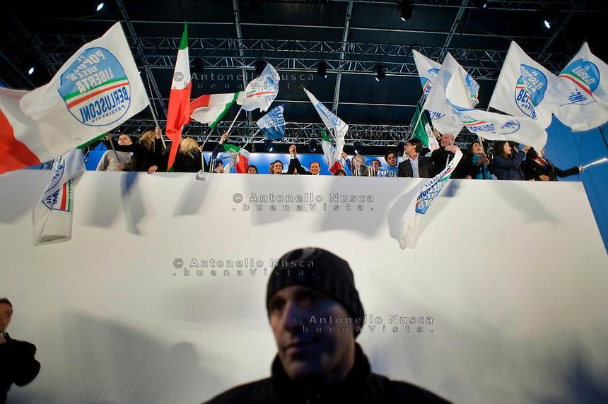 Manifestazione del Popolo della Libertà