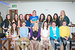 BIRTHDAY MEAL: Mary Kate Maguire, Ballyheigue (front 3rd from right)celebrated her 15th birthday last Saturday evening in La Scala restaurant,Tralee. Seated l-r: Sarah Jo Lynch, Jordan Conway, Shelly Howarth, Mary Kate Maguire, Sean Dowling and Jack Quilter. Back l-r: Anna Sugrue, Alice Jaegar, Léna Harkin, Clodagh Daly, Jamie Bourke, Ayesha Quane, Eden Abrahams, Agnieszka Urbaniak and Sarah Barry.