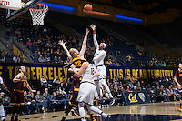 BERKELEY, CA - January 20, 2017: Cal falls to Arizona State, 54-45, at Haas Pavilion.