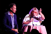 LOS ANGELES - OCT 6: Peter Marc Jacobson, Bruce Vilanch at the Right This Way, Your Table's Waiting cabaret performance - to benefit The Actors Fund held at  The Catalina Jazz Club on October 8, 2017 in Los Angeles, CA