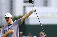 Justin Rose (ENG) tees off the 1st tee during Friday's Round 2 of the 2017 PGA Championship held at Quail Hollow Golf Club, Charlotte, North Carolina, USA. 11th August 2017.<br /> Picture: Eoin Clarke | Golffile<br /> <br /> <br /> All photos usage must carry mandatory copyright credit (&copy; Golffile | Eoin Clarke)