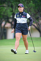 Moriya Jutanugarn (THA) departs 2 after sinking her putt during round 3 of  the Volunteers of America Texas Shootout Presented by JTBC, at the Las Colinas Country Club in Irving, Texas, USA. 4/29/2017.<br /> Picture: Golffile | Ken Murray<br /> <br /> <br /> All photo usage must carry mandatory copyright credit (&copy; Golffile | Ken Murray)