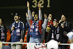 6 November 2004: A group of New England fans made the trip down from Boston to support their team. DC United defeated the New England Revolution 4-3 on penalties after the game ended in a 3-3 tie at RFK Stadium in Washington, DC in the Major League Soccer Eastern Conference Championship Match. .