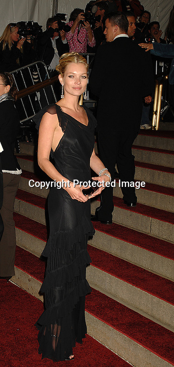 Kate Moss..arriving at The Metropolitan Museum of Art's Costume Institute Gala on May 7, 2007 in New York City. The Gala celebrates the exhibition: Poiret: King of Fashion..Robin Platzer, Twin Images......212-935-0770