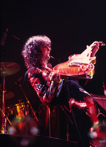 Led Zeppelin May 25th 1975 Jimmy Page at Earls Court