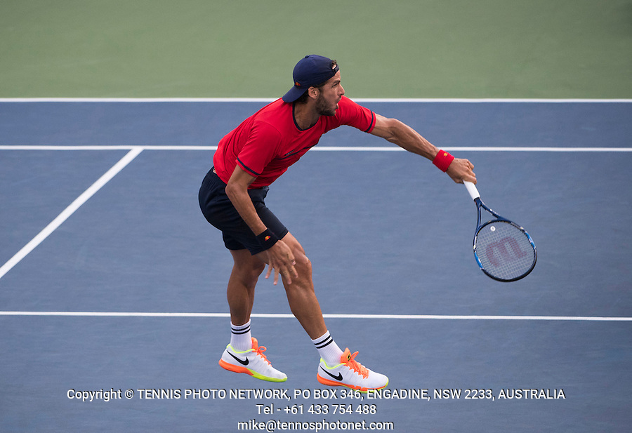 FELICIANO LOPEZ (ESP)<br /> <br /> TENNIS - THE US OPEN - FLUSHING MEADOWS - NEW YORK - ATP - WTA - ITF - GRAND SLAM - OPEN - NEW YORK - USA - 2016  <br /> <br /> <br /> <br /> &copy; TENNIS PHOTO NETWORK