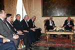 Palestinian President, Mahmoud Abbas (Abu Mazen) meets with the President of Italy in Rome on July 17, 2012. Photo by Thaer Ghanaim. Photo by Thaer Ghanaim