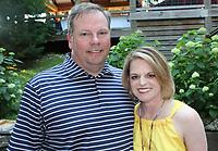 NWA Democrat-Gazette/CARIN SCHOPPMEYER Michael and Marlena Bond help support The Jones Center on May 30.