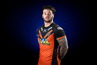 Picture by Allan McKenzie/SWpix.com - 09/01/18 - Rugby League - Super League - Castleford Media Day 2018 - A1 Football Factory, Castleford, England - Alex Foster.
